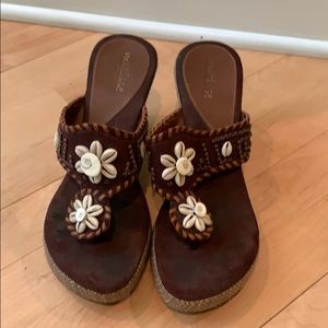 Shoes - Matisse wedge brown sandals